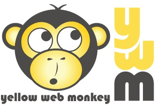 Yellow Web Monkey